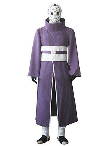 [FW@ Uchiha Madara Rinnegan Cosplay Costume , female , xxxl] (Madara Uchiha Halloween Costume)