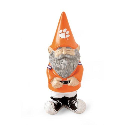 NCAA Clemson University Garden Gnome (Stone Garden Gnome)