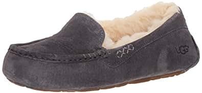 UGG Women's Ansley Slippers, Grey, 5 US