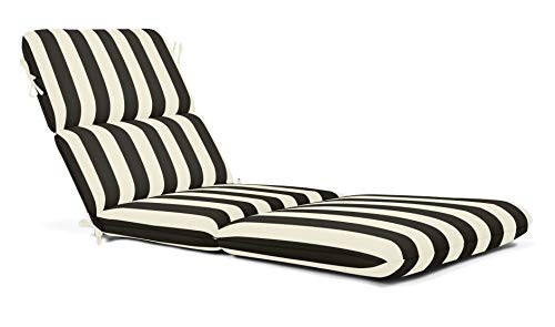 ThuyTien Sunbrella Striped Outdoor Chaise Cushion 74 x 22 in. - Maxim Classic Sunbrella Striped Outdoor Chaise Cushion 74 x 22 in. - Maxim Classic (Outdoor Furniture Uk Ebay)