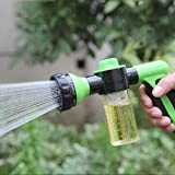Best Hose End Sprayers - Turf-Pro, (9-Pattern) Hose Nozzle With Mixing Chamber Review