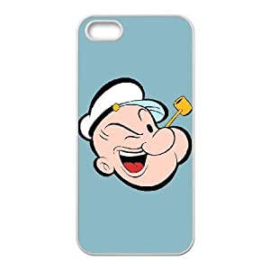 iPhone 5,5S phone cases White Popeye the sailor Phone cover KLW4113369