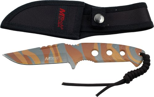 UPC 805319071358, MTECH USA MT-20-16DBC Fixed Blade Knife 8.5-Inch Overall