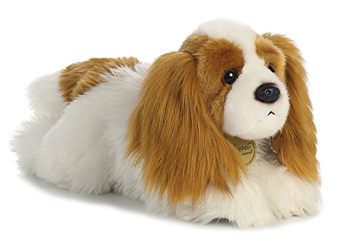 Aurora World Miyoni King Charles Cavalier Plush Cavalier King Toy