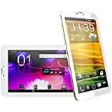 "golden 7 Inch Unlocked Dual Sim Card Phone Tablet New Arrivals, Worldwide Unlocked, Human Friendly Phablet 7"" Inch Android(always Current Version), 3g GSM -Wcdma Tablet Phone - Dual Sim,gps, Bluetooth, Wifi, Dual Camera, Phone Calling ,Google Play Store, Superslim Design, Lightweight"