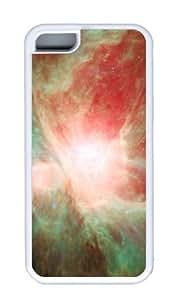 Customized Case Cosmic Star Magic TPU White for Apple iPhone 5C