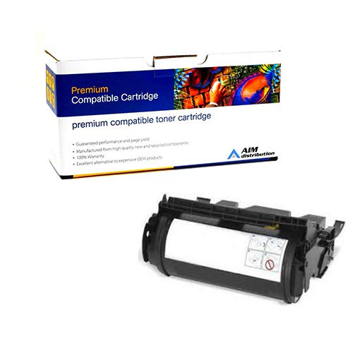 (AIM Compatible Replacement for PrintMaster TN4500 Toner Cartridge (23000 Page Yield) - Compatible to Lexmark 12A0825 - Generic)