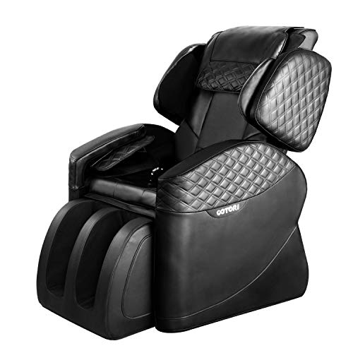 OOTORI Full Body Electric Massage Chair, Zero Gravity Neck Back Legs and Foot Shiatsu Massager with Heat and Foot Rollers (Black) from OOTORI