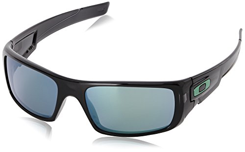 (Oakley Men's Crankshaft Rectangular Eyeglasses, Black Ink/Jade Iridium, 60 mm)