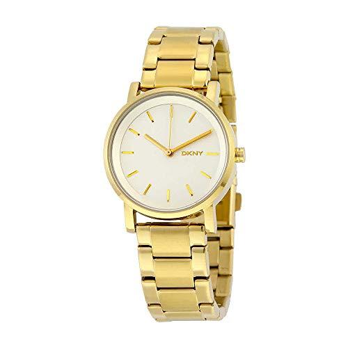 (DKNY Women's NY2343 SOHO Gold Watch)