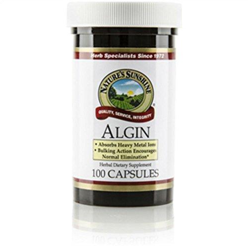 Naturessunshine Algin Herbal Dietary Supplement 100 Capsules (Pack of 2)