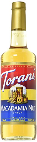 Torani Macadamia Nut Syrup, 750 mL