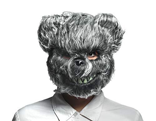 Teddy Bear Halloween Mask (Hairy Scary Furry Evil Teddy Bear Mask)