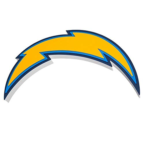 - FanFave NFL San Diego Chargers 3D Foam Wall Sign, 20