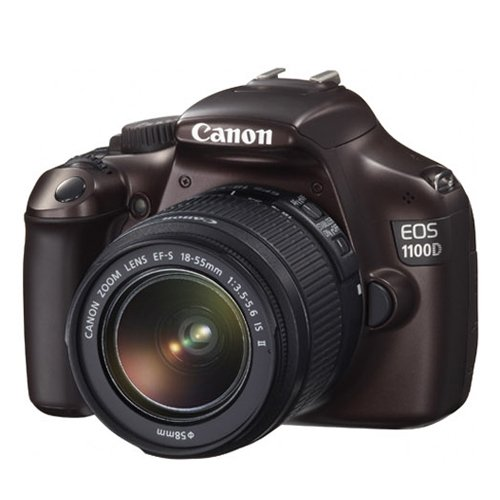 Canon EOS 1100D DSLR Camera and 18-55mm IS II Lens Kit (Brown), Best Gadgets
