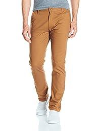 Men's Flex Stretch Basic Long Chino Pants
