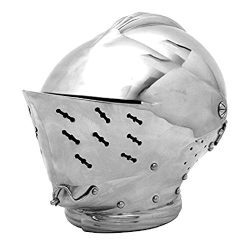 Armor - Tudor Close Helmet Official Replica Armour Metallic One (Adult Tudor Costume)
