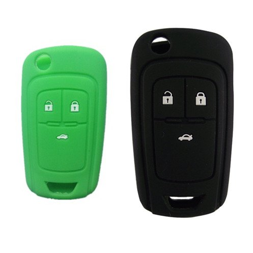 WFMJ New Red Silicone 5 Buttons Remote Key Cover Holder Jacket for Chevrolet Camaro Cruze Volt Equinox Spark Malibu Sonic Cover Auto keyless