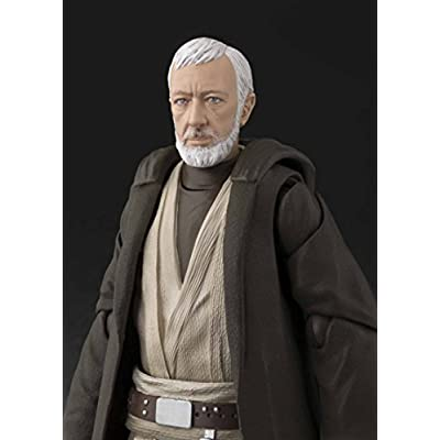S. H. Figuarts Star Wars (STAR WARS) Ben Kenobi (A New Hope) Approx. 150 mm ABS & PVC painted movable figure Japan Import: Toys & Games