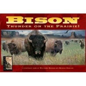 Bison Thunder on the Prairie