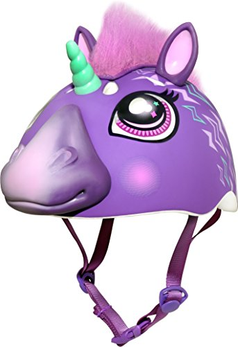 Raskullz Electric Unicorn Helmet, Purple
