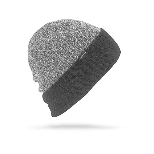Beanie Winter Volcom (Volcom Men's Cruiser Rollover fit Snow Beanie, Black, One Size)