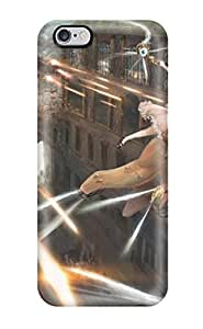 Best-Diy Awesome Battles Guys Robot Firing Anime Fantasy Girls Original Flip case cover With Fashion lZqMyhFfvbZ Design For Iphone 6 Plus