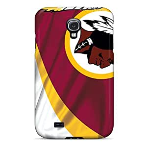 Durable Protector Cases Covers With Washington Redskins Hot Design For Galaxy S4 BY icecream design