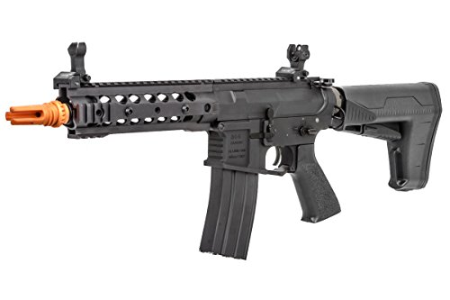 Classic Army M4 ARS3-8 Modular Rail Carbine AEG Airsoft Gun w/BAS Stock (Black)