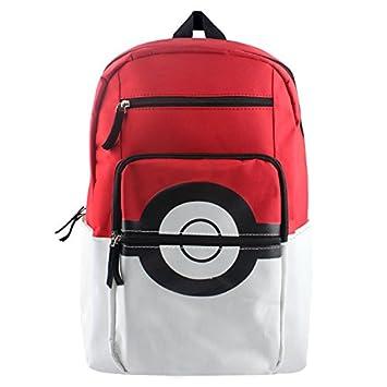 Pokemon Bolsas Escolares Mochila Pokémon Pikachu Elf Ball Mochila de Lona: Amazon.es: Equipaje