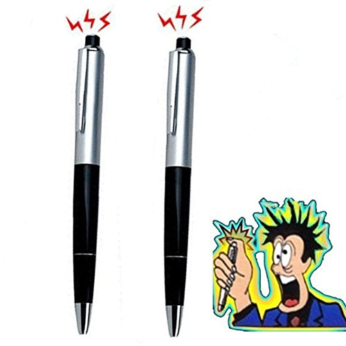 Forum Novelties Hosaire 2 Pcs Electric Shock Pen with Battery Fun Prank Joke Trick Toys for Practical 2 Toys