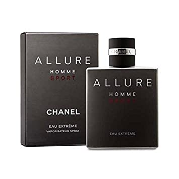 Allure Homme Sport Eau Extreme by C h a n e l 3.4 oz Eau De Toilette Spray for Men