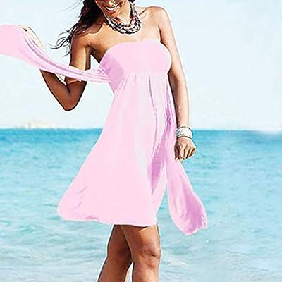 Women Tankini Set Bikini Swimwear Push Up Padded Bra Beachwear Beachdress