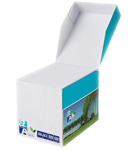 - Double A - Small Loose Memo Sheets, 60 x 83mm Size, 80gsm Density, 600 Sheets Per Pack and All Papers Contained in Paper Box, White Colour