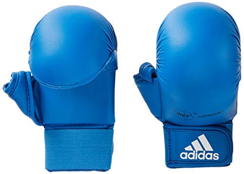 Luva Karate WKF Azul M
