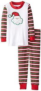 Sara's Prints Boys' Long John Pajamas