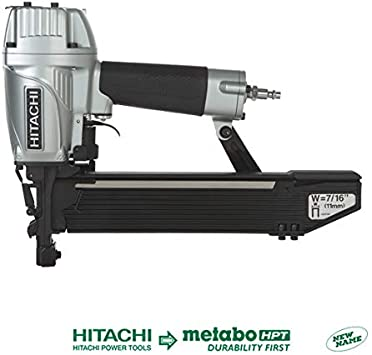 "Hitachi N5008AC2 7/16"" Standard Crown Stapler, 16 Gauge - Power ..."