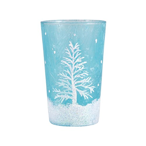 Traditional Décor Collection Snowlight Votive In Azure