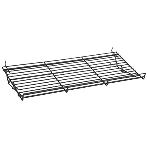 Display Shelf Black Epoxy-Coated Wire - 23 1/2