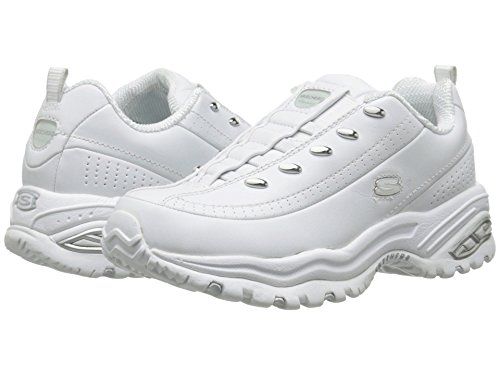 Skechers Sport Women's Premium-Premix Slip-On Sneaker, White, 8.5 M US by Skechers