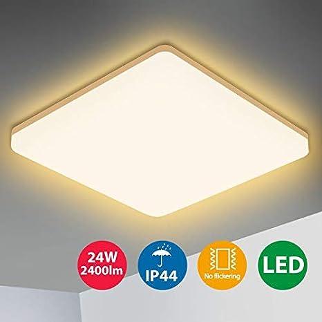 LED Deckenleuchte Deckenlampe Decke Lampe Flur Wohnzimmer Wandleuchte 1400 lm
