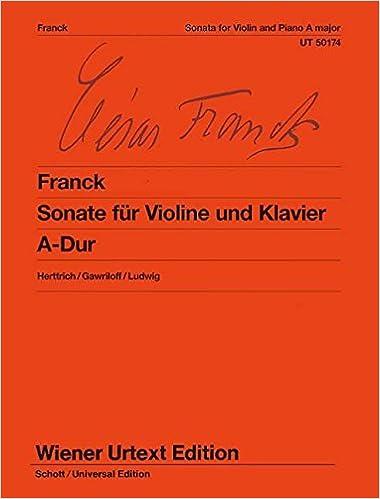 Ebook ipad télécharger portugues Sonate für Violine und Klavier A-Dur 3850555747 PDF