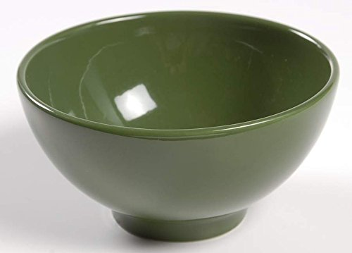 Portmeirion Gingko Green Footed Bowl 12 CM Sugar SO
