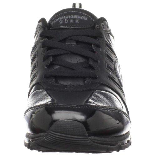 Skechers para el trabajo 51191 Aire revvolution la zapatilla de deporte Black