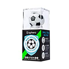 This soccer-themed Sphero Mini packs tons of fun into a tiny, app-enabled robotic ball. Equipped with a gyroscope, accelerometer, and colorful LED lights, this app-enabled robotic ball lets you drive, play games, and learn to code using our f...
