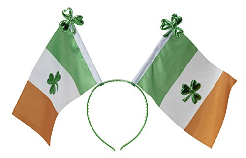 Irish Flag Boppers Headband Party Accessory