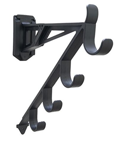 wall mount fishing rod holder - 5