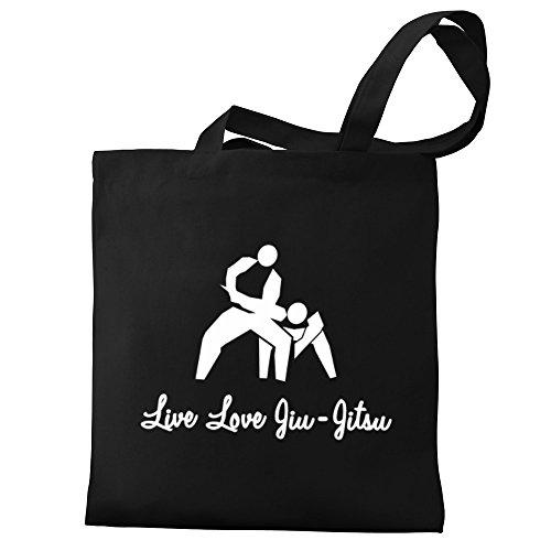 Love Jiu Eddany Canvas Tote Live Jitsu Bag 5E5FWpq
