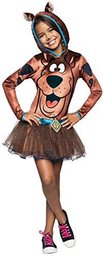 Rubie's Costume Scooby Doo Child Hooded Tutu Costume Dress Costume, Medium -