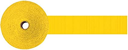 Party Decor Sunshine Yellow 12 Ct. 500 Jumbo Roll Party Crepe Streamer